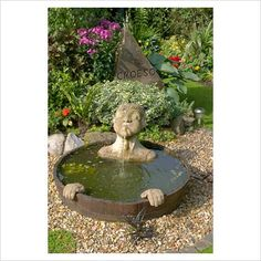 whimy and small water feature