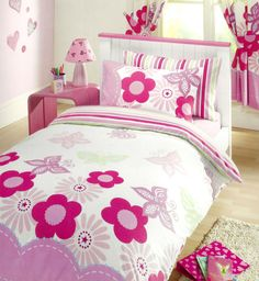 Kids Club Sunny Days Flowers & Butterflies Double Duvet & Pillow Cover Bedding in Home, Furniture & DIY, Bedding, Bed Linens & Sets | eBay #bed #bedding #duvet #girly #pink #purple #girls #floral #flowers #thatsdarling #bedroom #decor #cosy #home #homedecor #homestyle #girls #girlsbedroom #kidsbedroom #HarvardMills #LordOfTheLinens