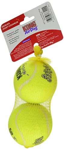 KONG Squeaker Tennis Balls Large Dog Toy 2-Pack Pet Supplies Near Me