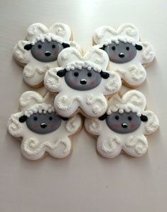 Spring tea party cookies