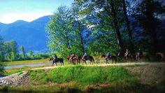 Vancouver Horseback Trail Riding - Leghorn Ranch Pitt Meadows