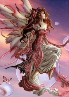 Red Butterfly fairy