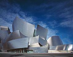 Walt Disney Concert Hall, het concertgebouw van Los Angeles.