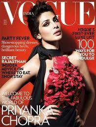 VOGUE INDIA - DECEMBER 2011 COVER MODEL - PRIYANKA CHOPRA