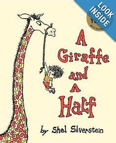 A Giraffe and a Half: Shel Silverstein: 9780060256555: Amazon.com: Books