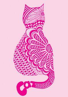 Google Image Result for http://2.bp.blogspot.com/_c9P37UhIl80/TUV03OmtEII/AAAAAAAAALs/gfhID476XdU/s1600/zendoodle_cat_pink.jpg