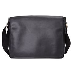 38363cd4786e Leathario Leather Laptop Messenger Briefcase Crossover Shoulder travel Bag  -- You can get additional details