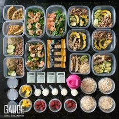 Top 4 Meal Prep Ideas- Reach your goals and stay on track with these insightful tips from www.gaugegirltraining.com TODAY!