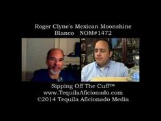 """M.A. """"Mike"""" Morales and Alexander Perez taste and discuss Roger Clyne's Mexican Moonshine Blanco Tequila."""