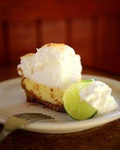 Best Florida Key Lime Pie Recipe - Florida Keys, Kermit's Key West Key Lime Shoppe, Fish House in Key Largo, Favorite Dessert Recipe, Key Lime Pie, Meringue, Key Lime Juice, Graham Cracker Crust   Florida Travel + Life