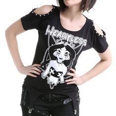 Camiseta Gótica Yasmín | Crazyinlove España