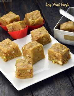 Dry Fruit Barfi recipe | Mithai Recipes |
