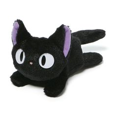 NEW REWARD! Bring home JiJi, the cute and magical kitty from the beloved film Kiki's Delivery Service! #cat #kitty #Miyazaki #cartoon #disney #stocking #stuffer #christmas #present