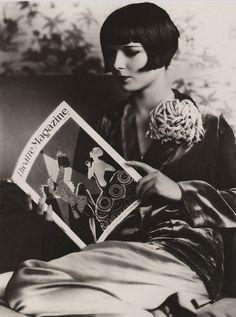 Louise Brooks (1906 - 1985) actrice américaine