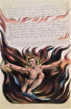 Tate Britain's wonderful William Blake exhibition includes lots of pages from his self-illustrated books of poetry. Tate Britain, William Blake, Poetry, Museum, Vulture, Gallery, Illustration, Books, Painting