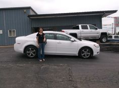 MEGAN and JEFFREY Know of Donnellson and their new 2011 CHEVROLET MALIBU! Congratulations and best wishes from Hosick Motors, Inc. and Bryan Hobbie.