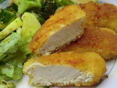 Nuggets de poulet maison sans gluten et sans lactose