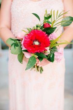 Vibrant Winter Destination Wedding at Playa del Carmen Bridesmaids And Groomsmen, Bridesmaid Bouquet, Wedding Bouquets, Bright Flowers, Flowers In Hair, Floral Wedding, Wedding Flowers, Destination Wedding, Wedding Planning