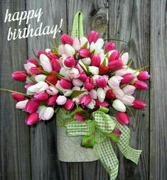 Best Birthday Wishes Images to Wish Your Friends Or Family a Happy Birthday - Latest Collection of Happy Birthday Wishes Birthday Wishes Flowers, Birthday Wishes And Images, Happy Birthday Flower, Best Birthday Wishes, Happy Birthday Pictures, Birthday Blessings, Birthday Wishes Quotes, Wishes Images, Birthday Bash