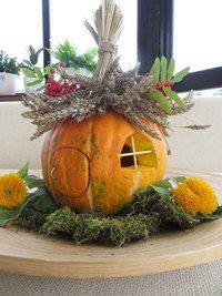 Darya Kachalova | VK Halloween Fairy, Halloween Ornaments, Halloween Pumpkins, Fall Halloween, Halloween Crafts, Halloween Decorations, Autumn Crafts, Nature Crafts, Summer Crafts