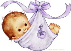tubes naissance - Page 3 Baby Images, Baby Pictures, Cute Pictures, Baby Clip Art, Baby Art, Baby Girl Clipart, Baby Scrapbook Pages, Baby Painting, Images Vintage