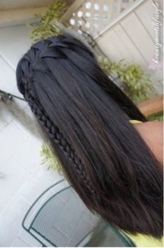 waterfall braids <3 by tabitha