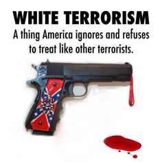 Because they don't want to hear the words White Radical Christian Terrorists.
