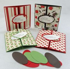 Dawns Stamping Studio: December 2011 Thank you notes video ...