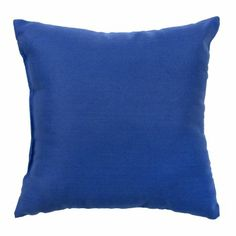 Amazon.com - Greendale Home Fashions Indoor/Outdoor Accent Pillows, Marine Blue, Set of 2