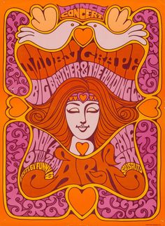 Moby Grape and The Big Brother & The Holding Company , November 4th, 1967 - The Ark (Sausalito, CA).