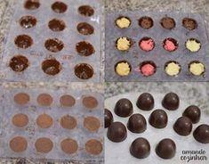 Trufas decoradas para vender + opções de recheios - Amando Cozinhar: Receitas Fáceis e rápidas Aloe Vera Lip Balm, Candy Store, Oreo, Mousse, Food And Drink, Sweets, Baking, Desserts, Pasta