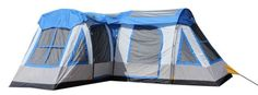 The Gateway 12-Person Deluxe Cabin Family Camping Tent