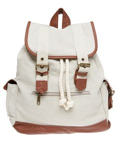 Epic Adventure Canvas Backpack | Wet Seal