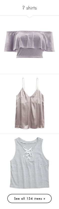 """♡ shirts"" by s-erene ❤ liked on Polyvore featuring tops, crop top, shirts, crop, grey, sale, gray crop top, short-sleeve shirt, velvet top and grey crop top"