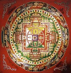 """Mandalas are visual representations of certain religious practices. As Catholics appeal to St. Jude for help in finding lost objects, so Buddhists practice rituals like the mandala to reflect certain aspects of themselves that """"you are trying to eliminate, or move through, or magnify."""""""