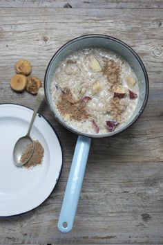 One of my  favourite food inspirations. Best porridge for energy, especially after a HARD early morning ride!