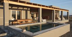 Waterkop Lodge – an oasis of calm African House, Destinations, Rubber Flooring, Outdoor Living, Outdoor Decor, Prince Albert, South Africa, House Plans, Mansions