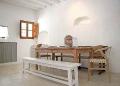 Dining area - El Cortijo, in Andalucia, Spain