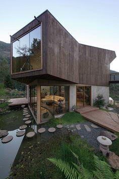 El Maqui House   GITC arquitectura #chile #GITCarquitectura #House #Residential #Valparaiso