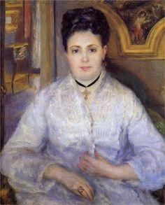 Madame Victor Chocquet, 1875  Pierre-Auguste Renoir