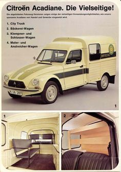 citroen acadiane van - Google Search