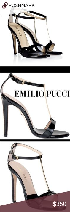 Authentic Emilio Pucci sandals, size 6 1/2 In great condition, box and dust bags included.  A must for the Poshmark fashionista. Emilio Pucci Shoes Sandals