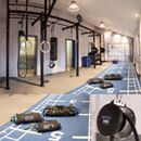 designs spaces using our  #fitnessequipment and supplement them to create your perfect #fitness #gym! #revvll #aeroSling #blackPack