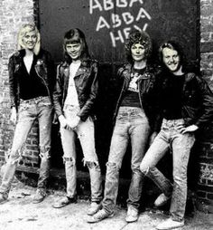 Abba Here's one you rarely see, from the late 70's