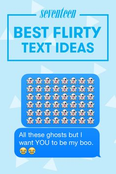 Use these flirty text ideas to start the conversation with your crush!