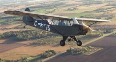 EAA - Win a 1945 Piper L-4J Warbird Vintage Aircraft - http://sweepstakesden.com/eaa-win-a-1945-piper-l-4j-warbird-vintage-aircraft/