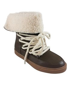 Another great find on #zulily! Olive Cuffed Nakia Boot #zulilyfinds