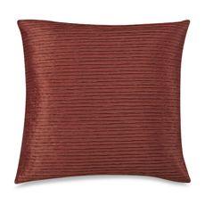 """Julia Pleat 20"""" Toss Pillow - Clay"""