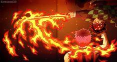 Kimetsu no Yaiba Gears of Fate by on DeviantArt Demon Slayer, Slayer Anime, Gorillaz, Samurai Warriors 4, Fire Demon, Hidden Photos, Digital Art Anime, Anime Angel, Fire And Ice