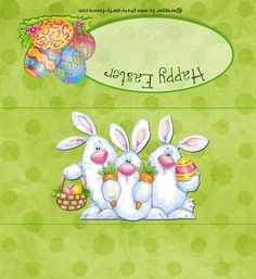 Candy bar wrapper-- http://www.photo-party-favors.com/candy-bar-Easter-bunny-trio.html